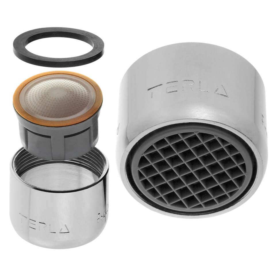 Aérateur économique d'eau Terla FreeLime 2.5 l/min - Filetage F22x1 femelle