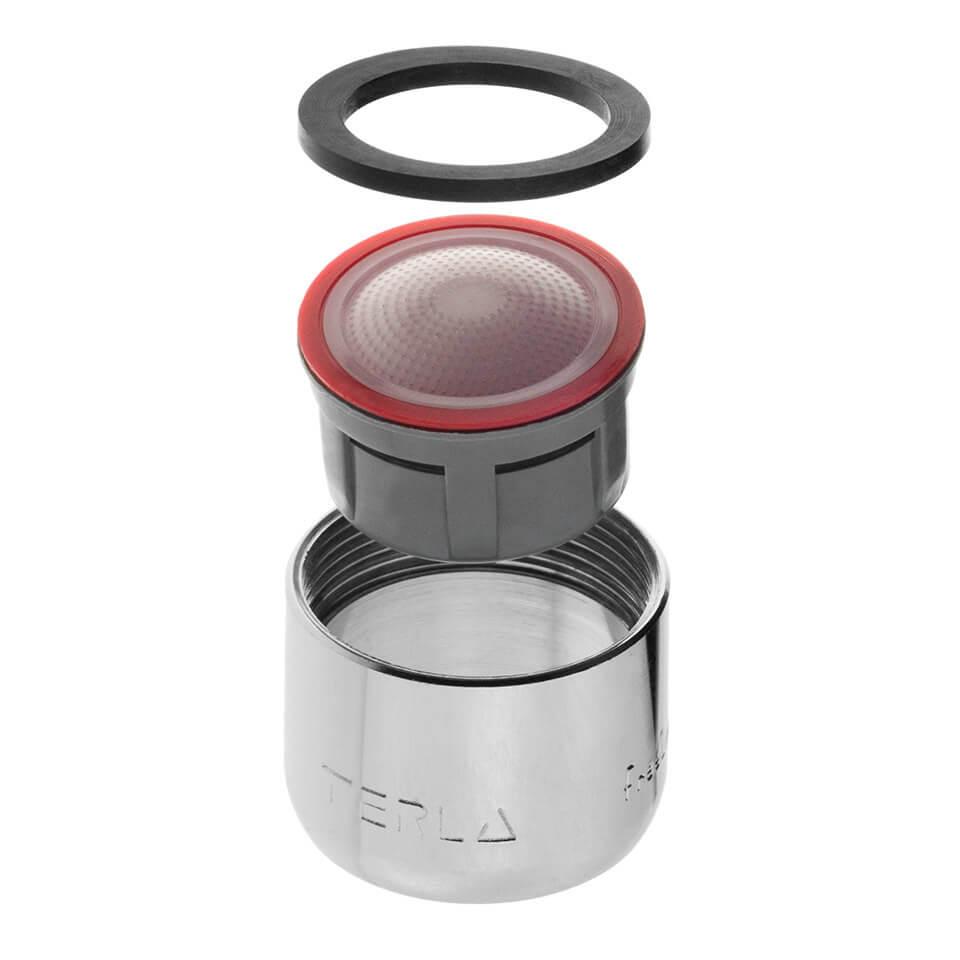 Aérateur économique d'eau Terla FreeLime 4.5 l/min - Filetage F22x1 femelle