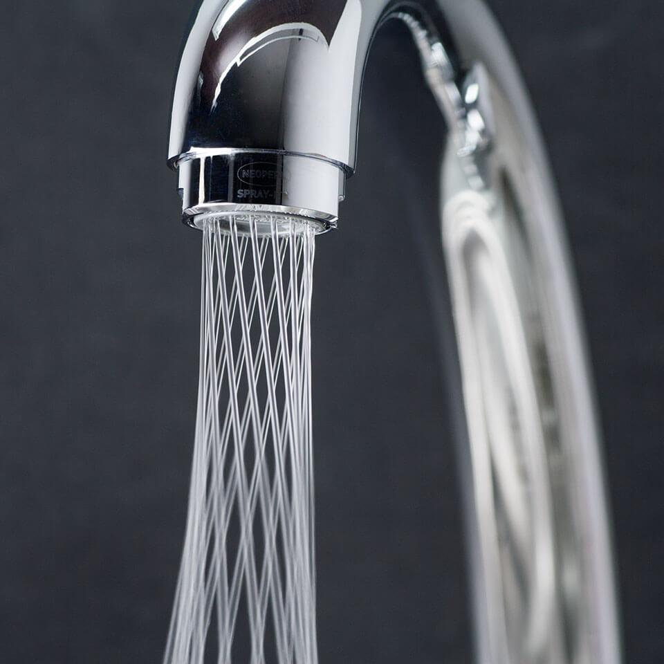 Aérateur économique d'eau Neoperl Mikado Tre 1.2 l/min - Filetage