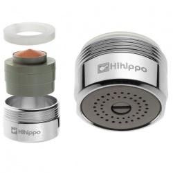 Ajustable Aérateur économique d'eau Hihippo R 1.8 - 8.0 l/min